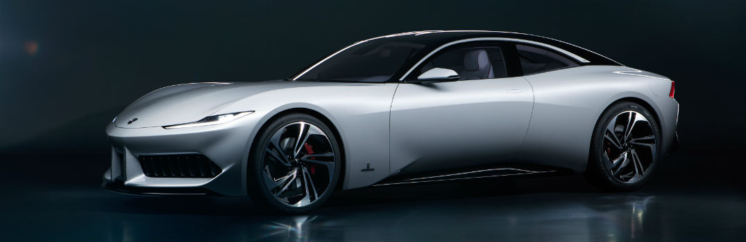 2020 Karma GT by Pininfarina Exterior Driver Side Front Profile