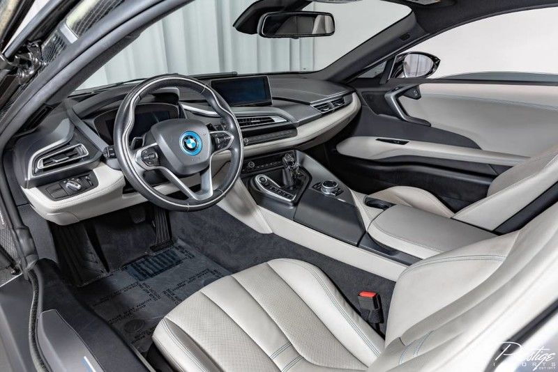 2015 BMW I8 Interior Cabin Dashboard