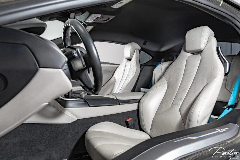 2015 BMW I8 Interior Cabin Front Seating