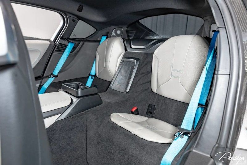 2015 BMW I8 Interior Cabin Rear Seating