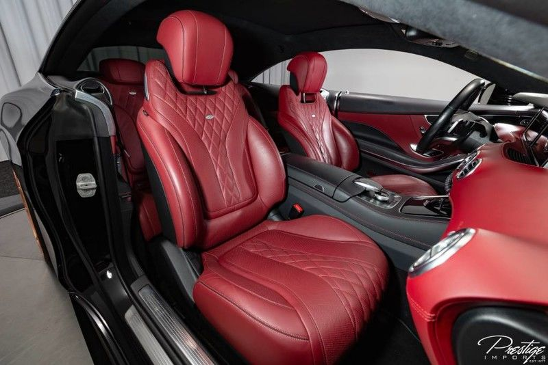 2016 Mercedes-Benz S-Class S550 Interior Cabin Front Seating