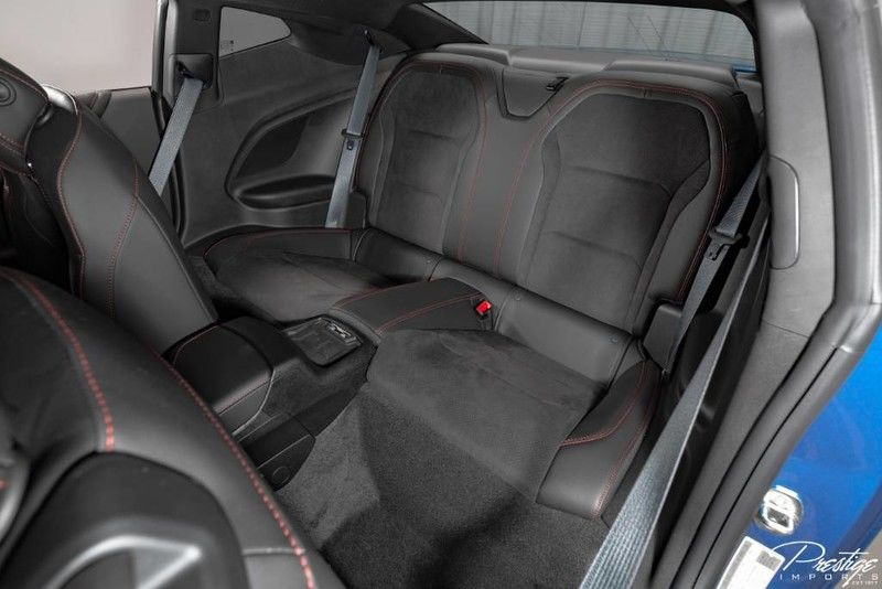 2018 Chevrolet Camaro ZL1 Interior Cabin Rear Seating