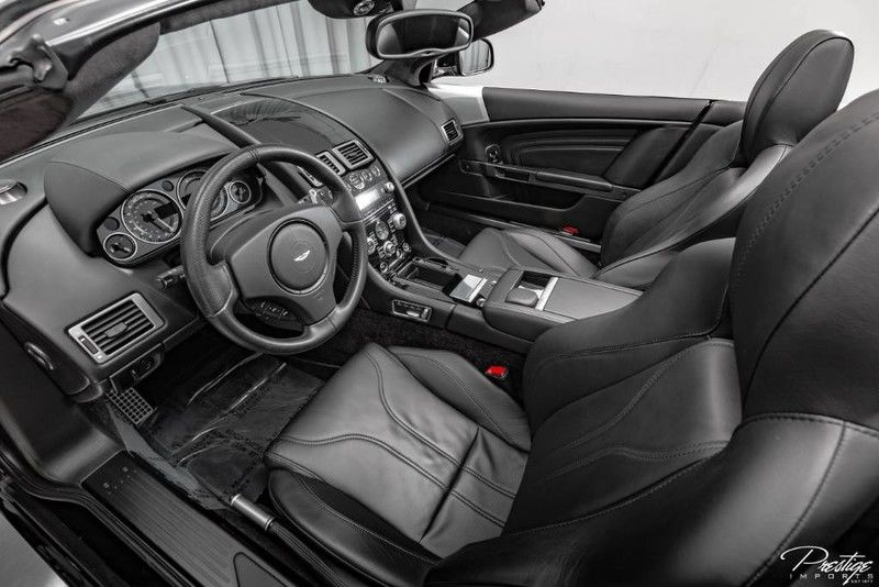 2012 Aston Martin DBS Carbon Edition Interior Cabin Dashboard
