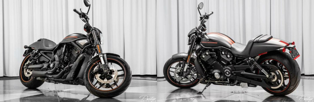 2015 Harley-Davidson Night Rod Special Exterior Front and Rear Profiles