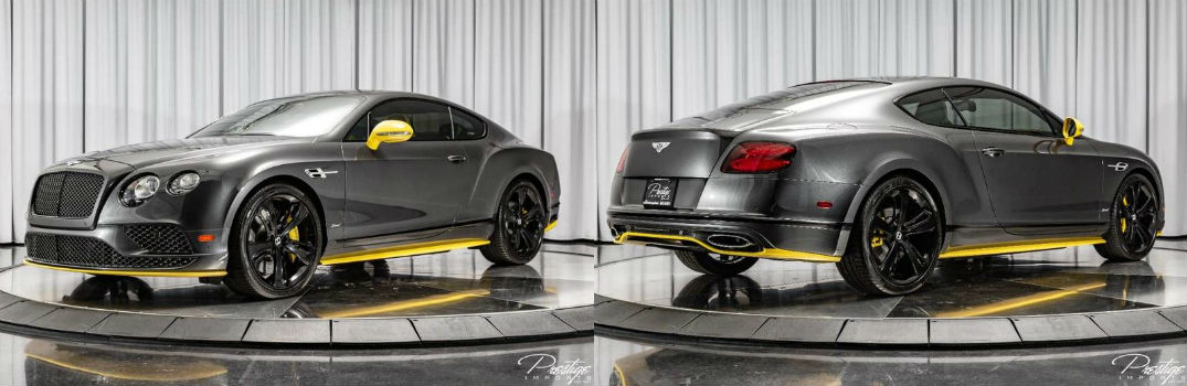 2017 Bentley Continental GT Speed Exterior Driver Side Front Passenger Side Rear Profiles