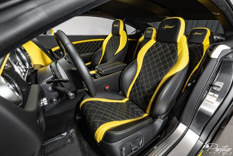 2017 Bentley Continental GT Speed Interior Cabin Front Seating