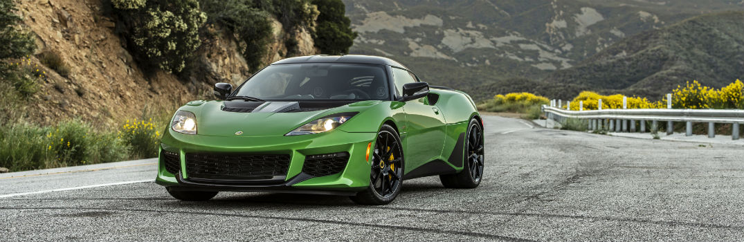 2020 Lotus Evora GT Exterior Driver Side Front Angle