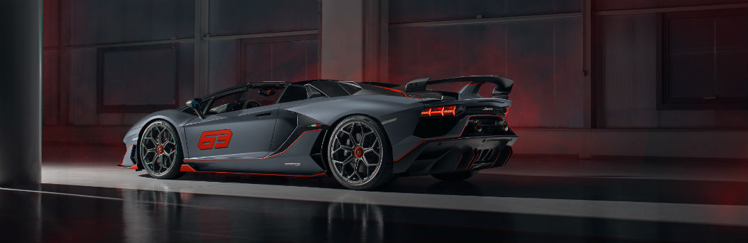 Pictures of the Lamborghini Aventador SVJ 63 Roadster