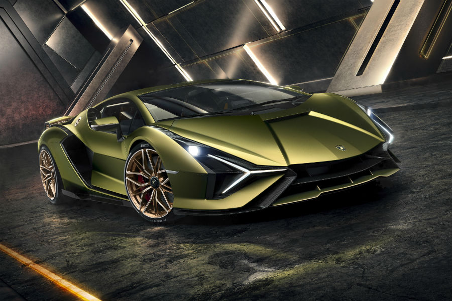 Lamborghini Sian Limited Edition Hybrid Super Sports Car Photo Gallery