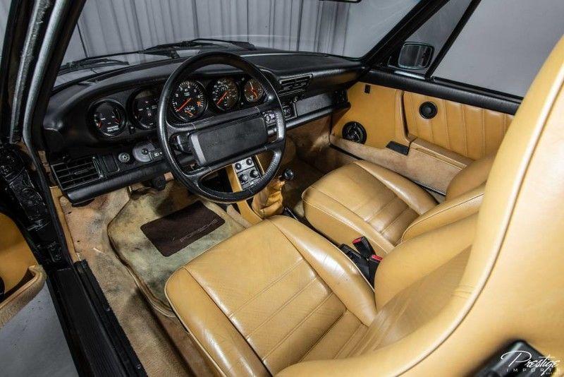 1987 Porsche 911 Turbo Interior Cabin Dashboard Front Seating