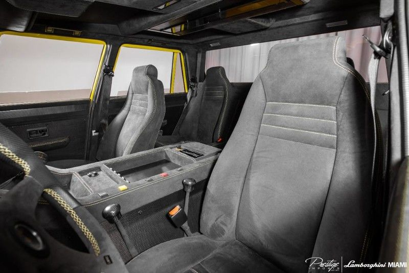 1992 Lamborghini LM002 Interior Cabin Front Seating