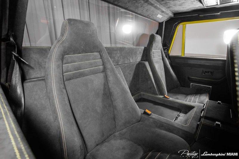 1992 Lamborghini LM002 Interior Cabin Rear Seating