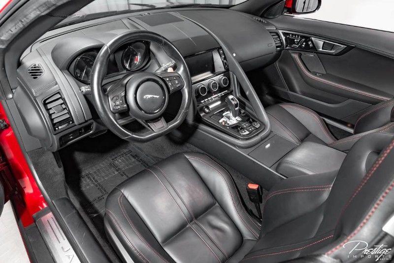 2015 Jaguar F-TYPE V8 S Exterior Interior Cabin Dashboard Front Seating