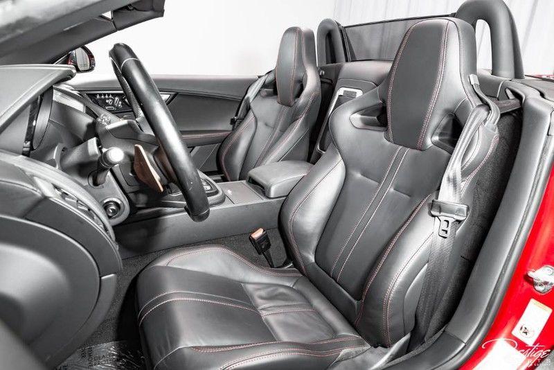2015 Jaguar F-TYPE V8 S Exterior Interior Cabin Front Seating