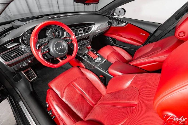 2016 Audi RS 7 Performance Interior Cabin Dashboard