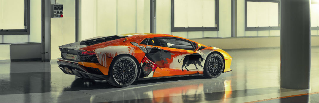 Created to Create Lamborghini Paint Shop Video Series with Skyler Grey