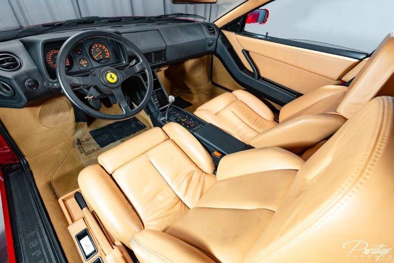 1987 Ferrari Testarossa Interior Cabin Dashboard Seating
