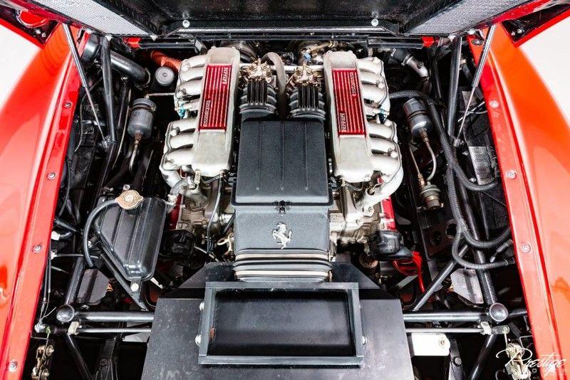 1987 Ferrari Testarossa Interior Engine Bay