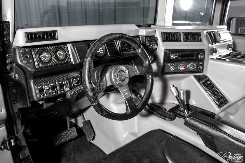 2000 Hummer H1 Interior Cabin Dashboard