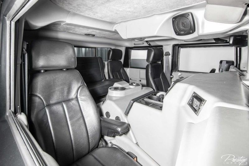 2000 Hummer H1 Interior Cabin Rear Seating