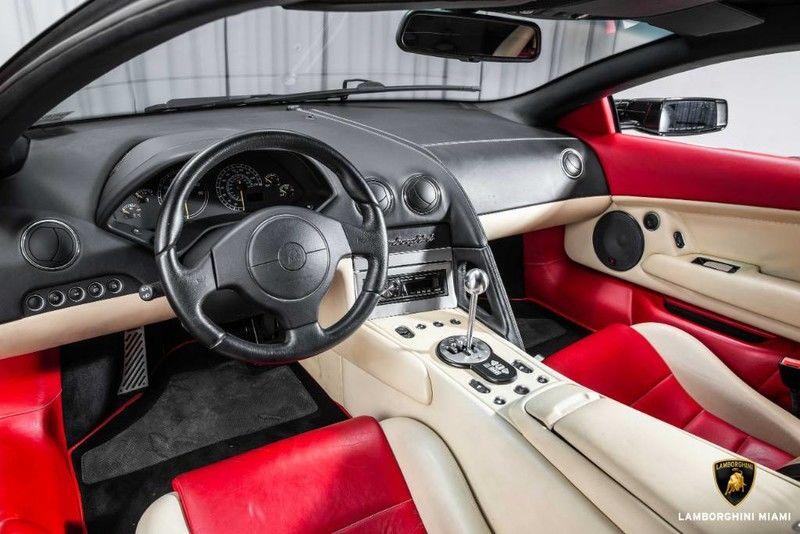 2003 Lamborghini Murcielago Interior Cabin Dashboard