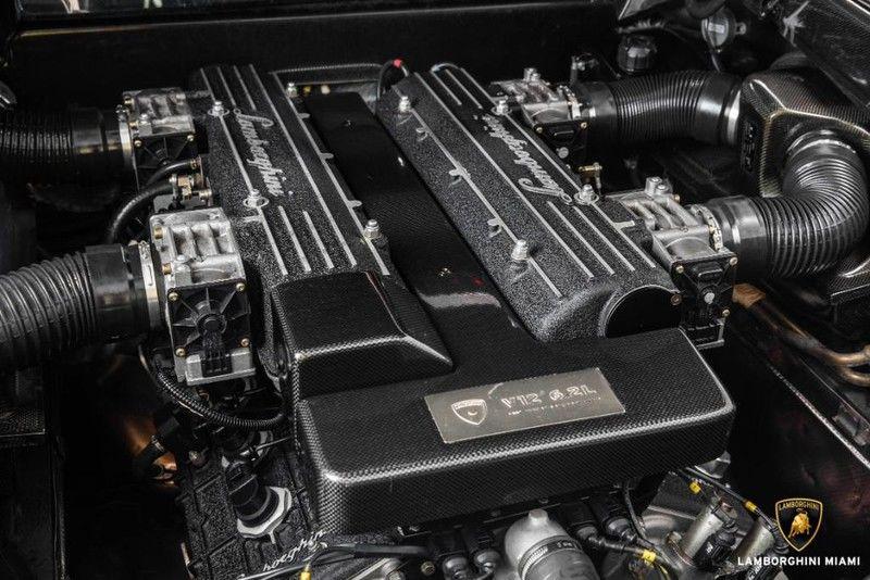 2003 Lamborghini Murcielago Interior Engine Bay