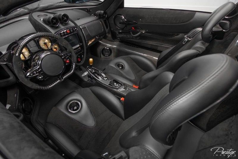 2017 Pagani Huayra Roadster Interior Cabin Dashboard Seating