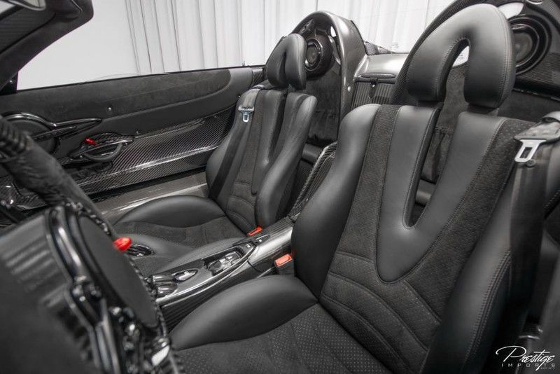 2017 Pagani Huayra Roadster Interior Cabin Seating