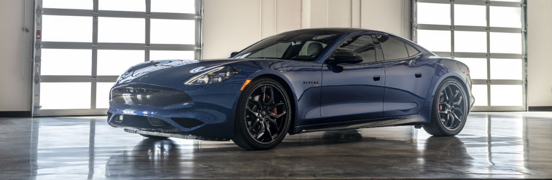 2020 Karma Revero GTS Exterior Driver Side Front Profile