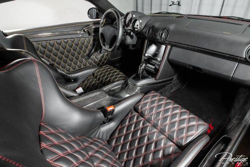 2017 Ruf CTR3 Clubsport Interior Cabin Dashboard