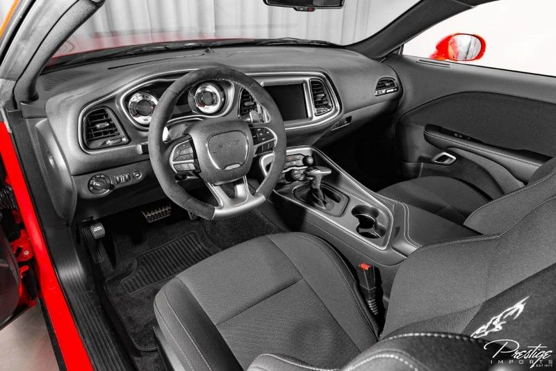 2018 Dodge Challenger SRT Demon Interior Cabin Dashboard