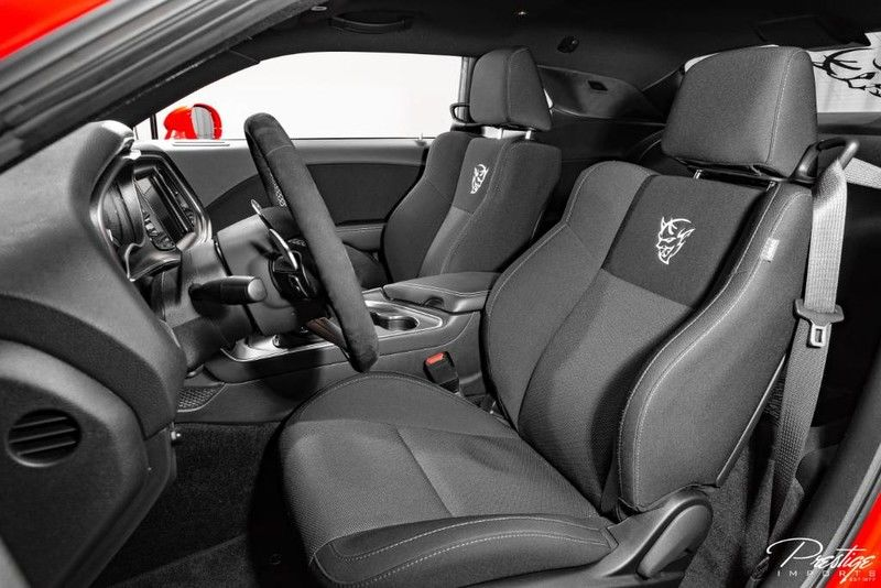 2018 Dodge Challenger SRT Demon Interior Cabin Seating