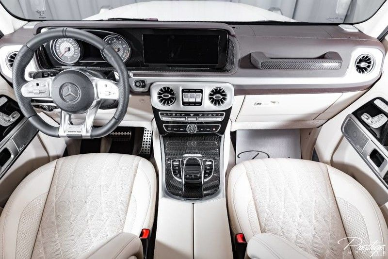 2019 Mercedes-Benz AMG G 63 Interior Cabin Dashboard