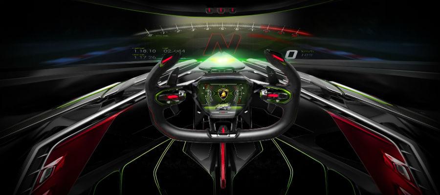Lamborghini Lambo V12 Vision Gran Turismo Concept Car Photo Gallery