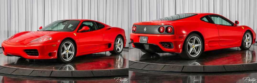 1999 Ferrari 360 Modena For Sale North Miami Beach FL