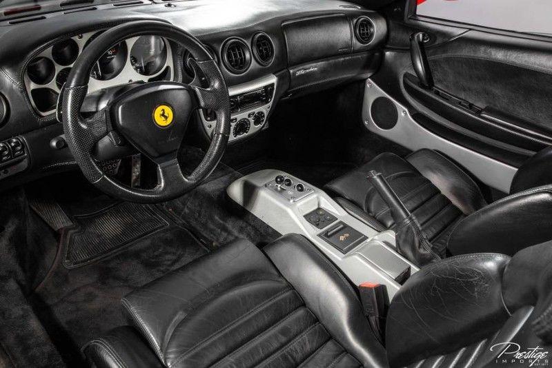 1999 Ferrari 360 Modena Interior Cabin Dashboard
