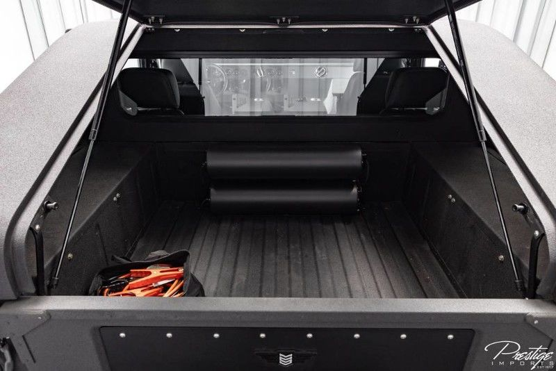 2018 Hummer H1 Mil-Spec Automotive Interior Cabin Cargo Hold