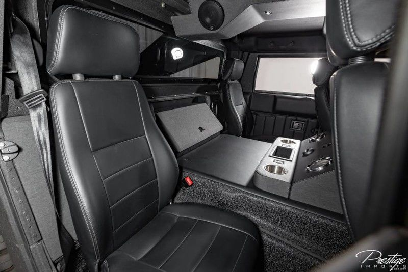 2018 Hummer H1 Mil-Spec Automotive Interior Cabin Rear Seating