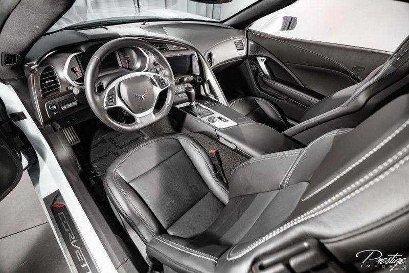 2019 Chevy Corvette 2LT Interior Cabin Dashboard