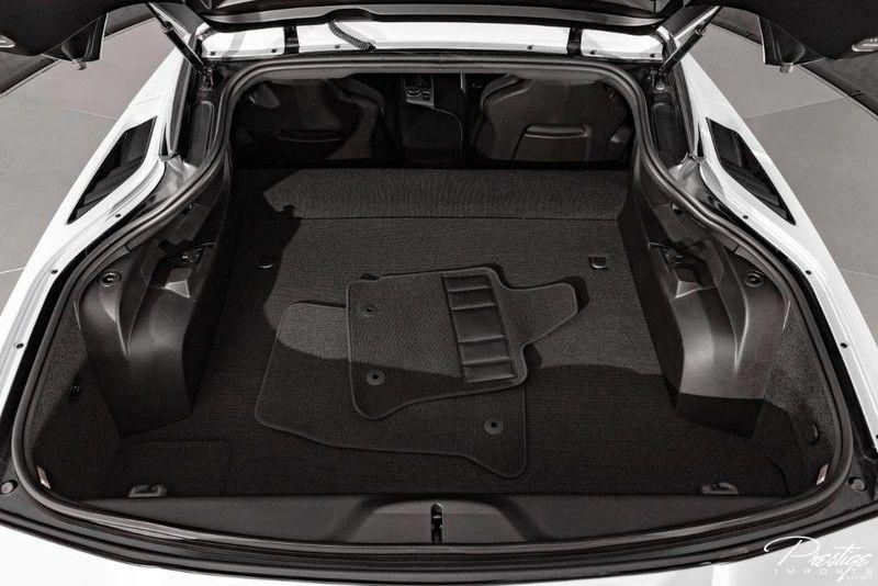 2019 Chevy Corvette 2LT Interior Trunk Space