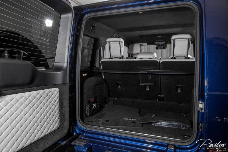 2020 Mercedes-Benz G-Class AMG G 63 Interior Cabin Cargo Area