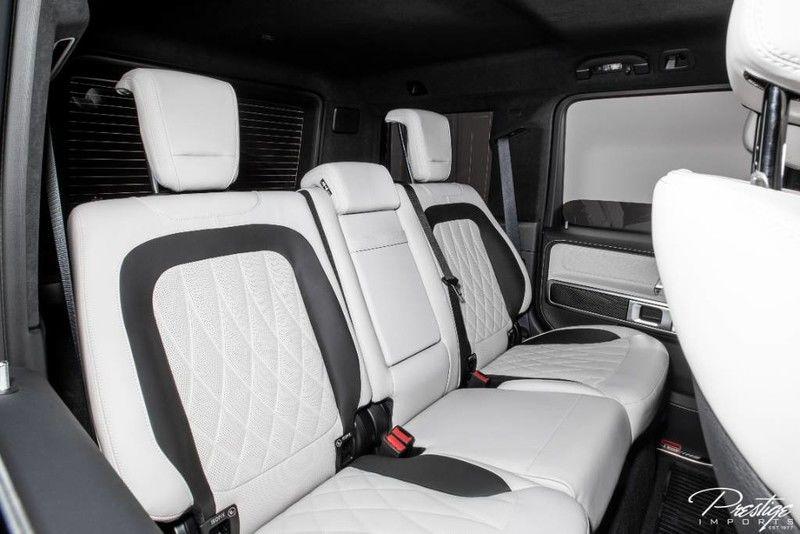 2020 Mercedes-Benz G-Class AMG G 63 Interior Cabin Rear Seating