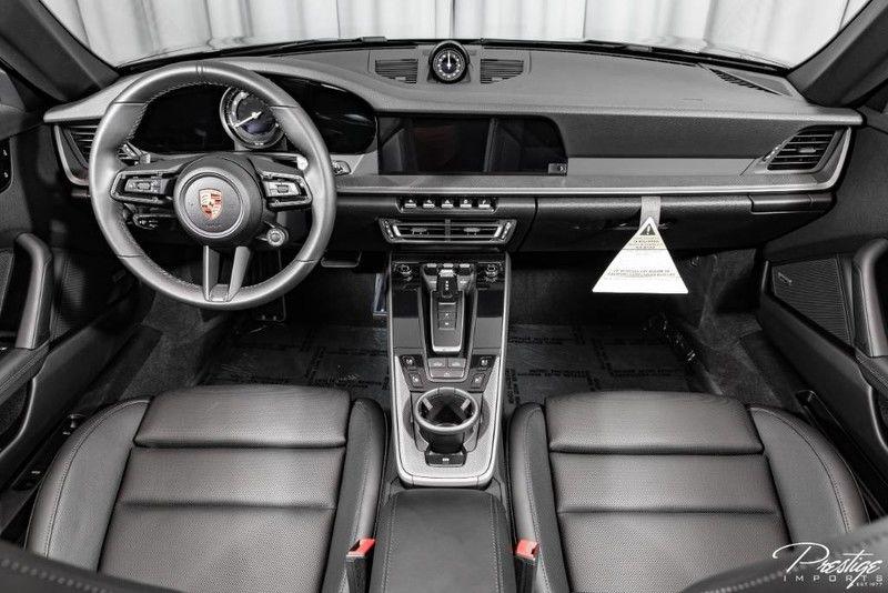 2020 Porsche 911 Carrera S Cabriolet Interior Cabin Dashboard