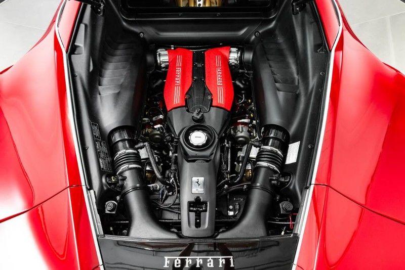 2018 Ferrari 488 GTB 70th Anniversary Edition Interior Engine Bay