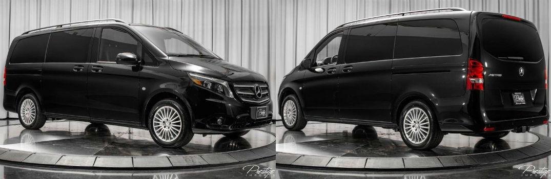 2018 Mercedes-Benz Metris Passenger Van Exterior Passenger Side Front Driver Rear Profiles