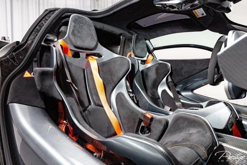 2019 McLaren Senna Interior Cabin Seating