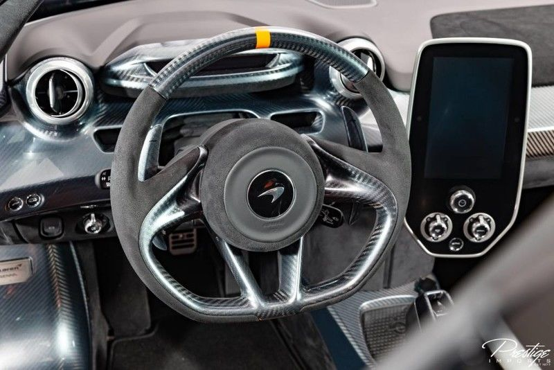 2019 McLaren Senna Interior Cabin Steering Wheel & Display Audio