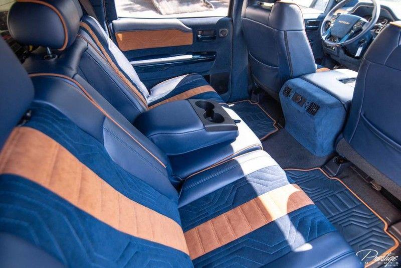 2019 Toyota Tundra DEVOLRO Limited Interior Cabin Rear Seating