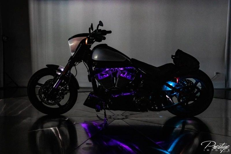 2017 Harley-Davidson Breakout CVO Motorcycle in the Dark