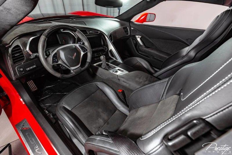 2018 Chevy Corvette Z51 Interior Cabin Dashboard